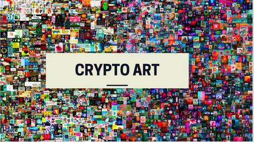 NFTS e CRYPTO ART
